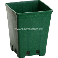 Classical Square Bamboo Fiber Flower Pot